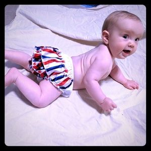 Stars and Stripes ruffle bloomers